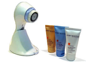 Clarisonic Pro comes with three cleansers